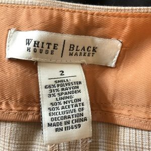Size to White House Black Market dress pants.